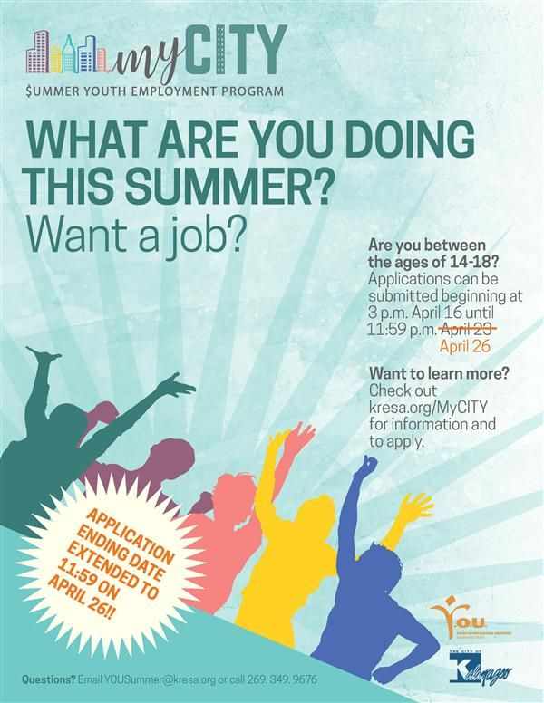 applications open for summer youth employment program