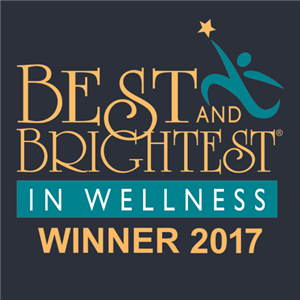 best and brightest award logo