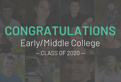Congratulations, Early/Middle College Class of 2020!