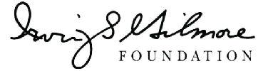 Gilmore Foundation logo
