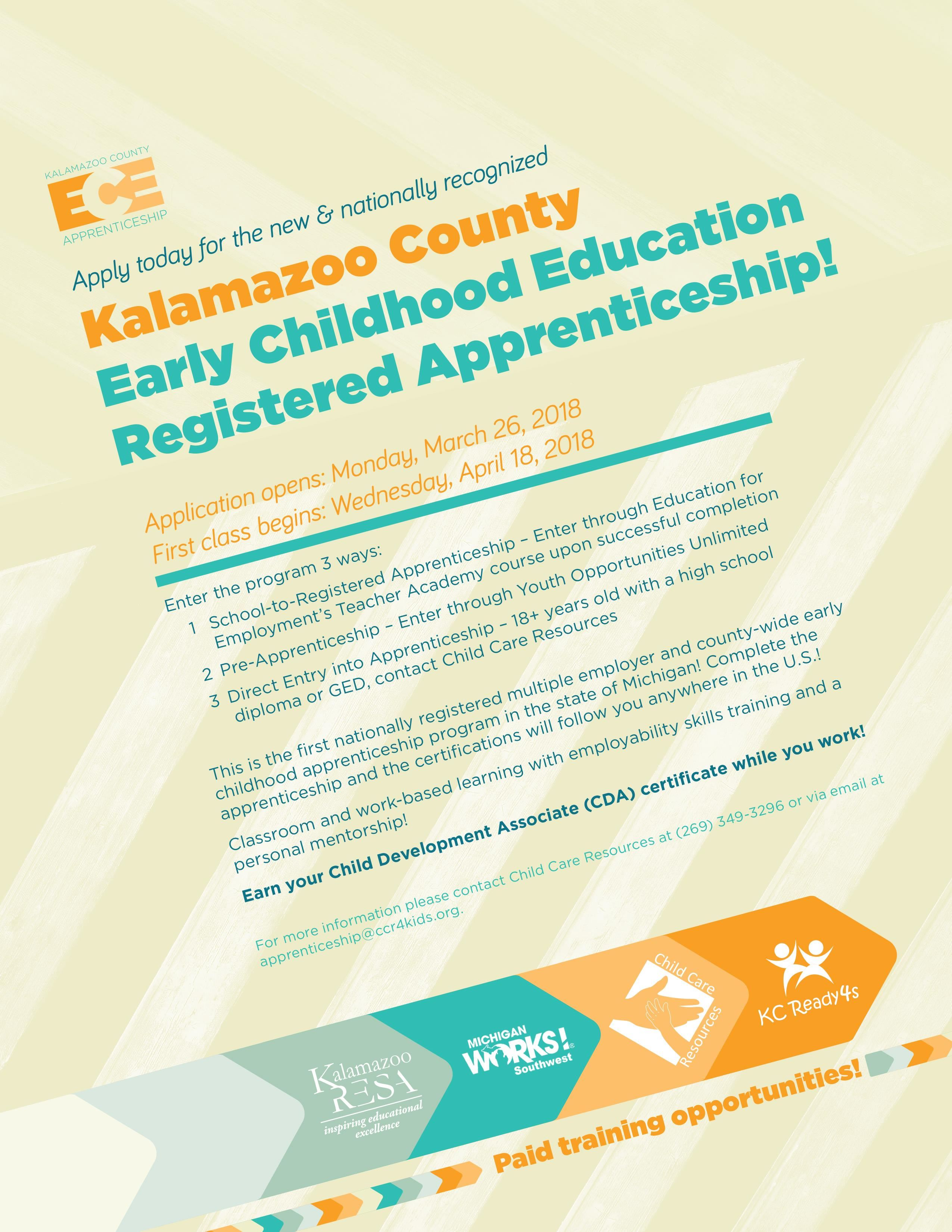Youth Opportunities Unlimited You Ece Apprenticeship