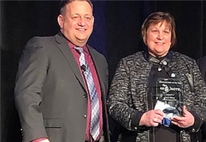Miller Honored as ACTE Administrator of the Year