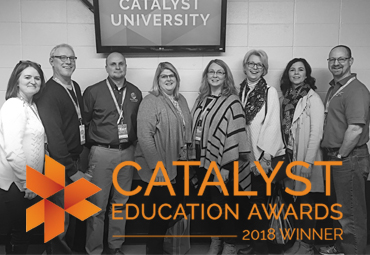 EFE Honored as Catalyst University's School of the Year