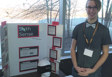 EFE Electronics & Robotics Student Earns First-Place at WMU's Innovation Day