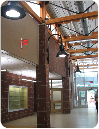 WoodsEdge hallway