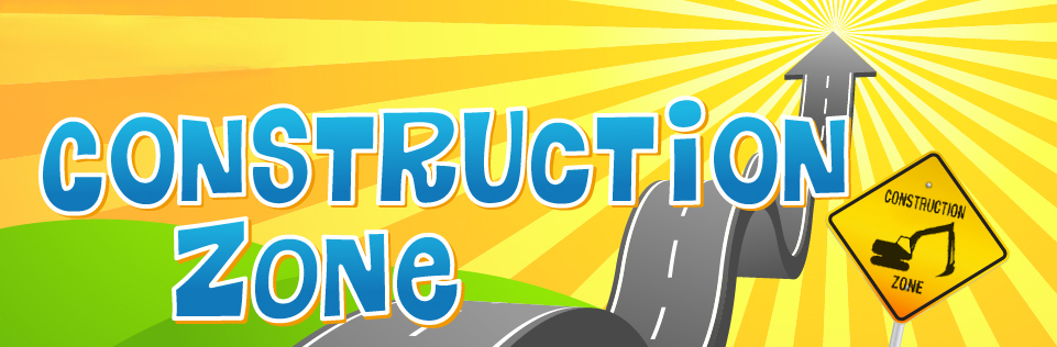Construction Zone Header Graphic