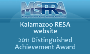 MSPRA 2011 Distinguished Achievement Award - Kalamazoo RESA website